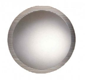 Regia Round Mirror In Moulded Glass 700mm Dia 6515